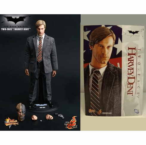 Hot Toys Collectibles The Dark Knight Two-Face / Harvey Dent Figure