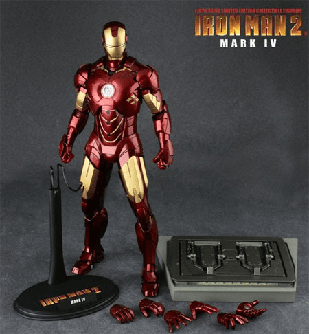 Hot Toys Iron Man 2 Mark IV Masterpiece Collecitble