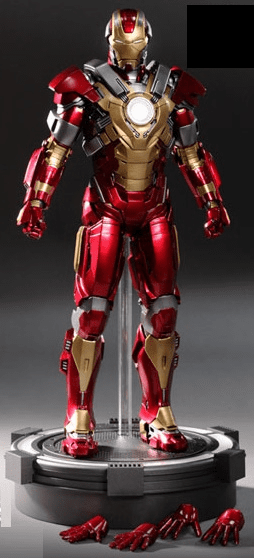 Hot Toys Iron Man 3 Mark 17 Heartbreaker Collectible Figure