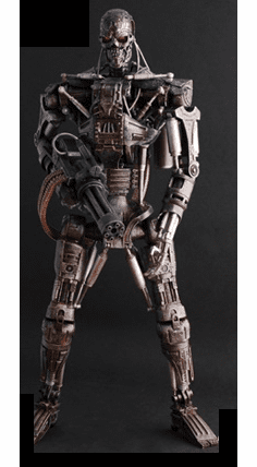 Hot Toys Terminator Salvation Martin Laing T-600 Endoskeleton Figure