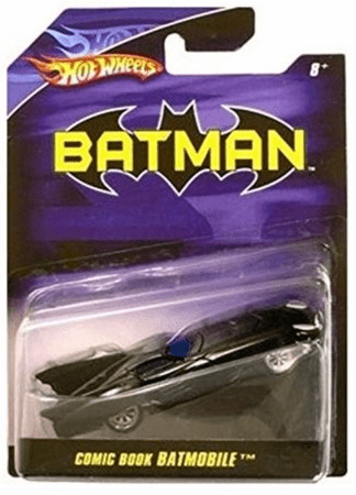 Hot Wheels Batman Comic Book Batmobile
