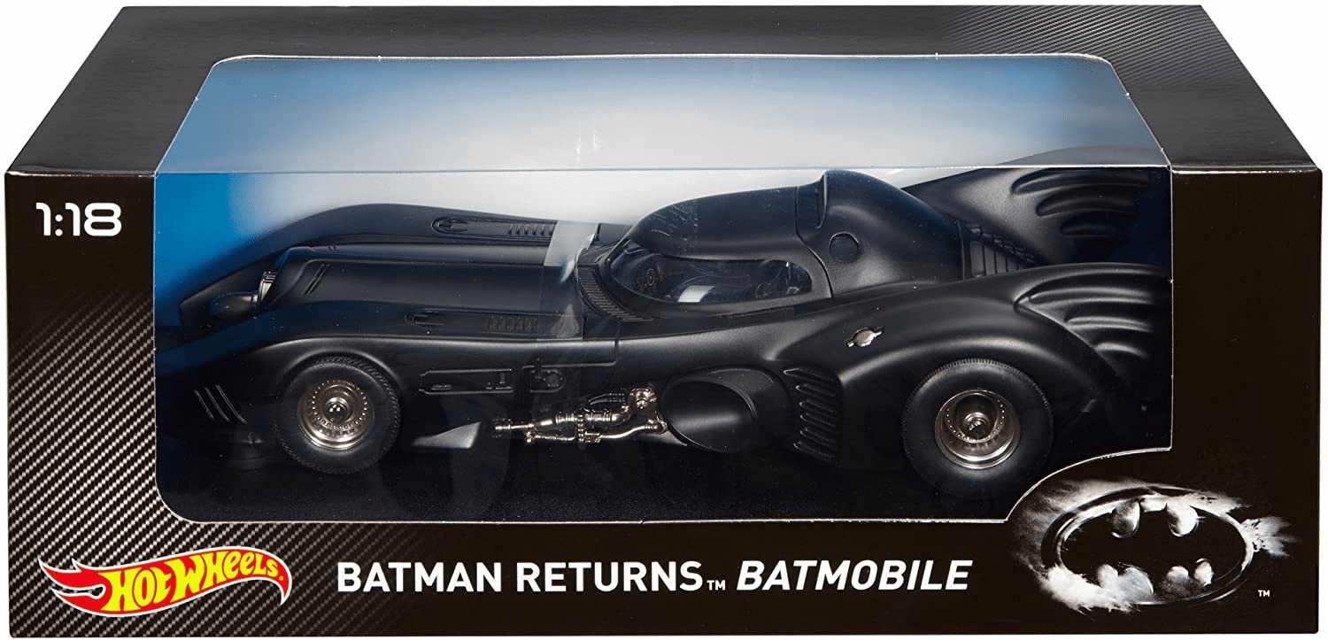 Hot Wheels Batman Returns Batmobile Diecast Car