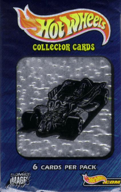 Hot Wheels Collector Trading Cards Pack