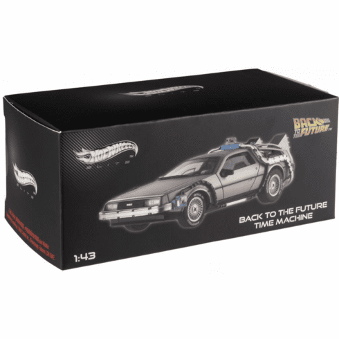 Hot Wheels Cult Classics Back to the Future Time Machine Die Cast