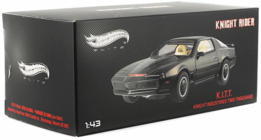 Hot Wheels Elite Knight Rider K.I.T.T. Die Cast
