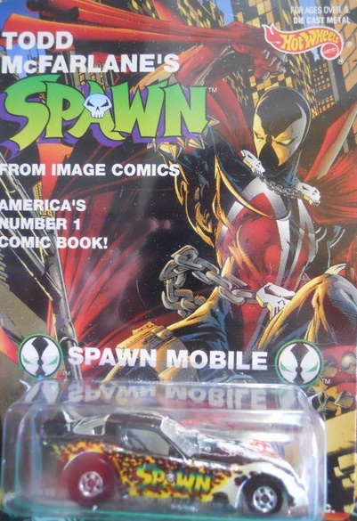 Hot Wheels McFarlane Spawn Mobile