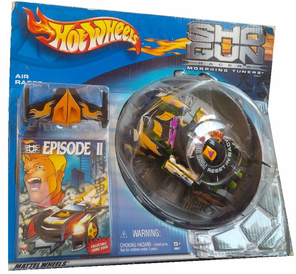 Hot Wheels Shogun Racers Episode II Morphing Car