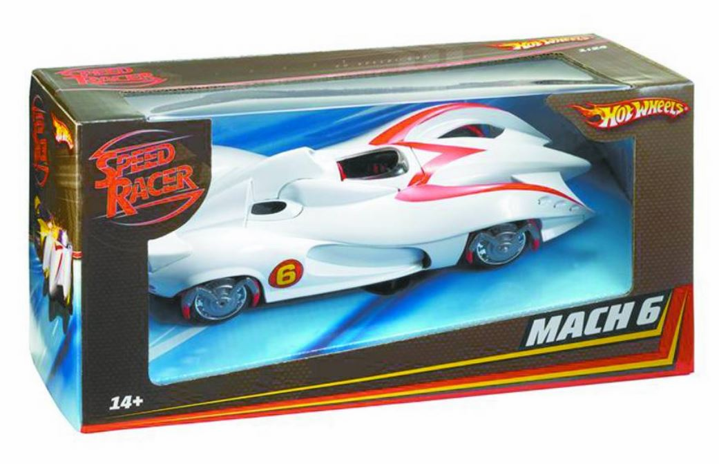 Hot Wheels Speed Racer Mach 6 Collector Car