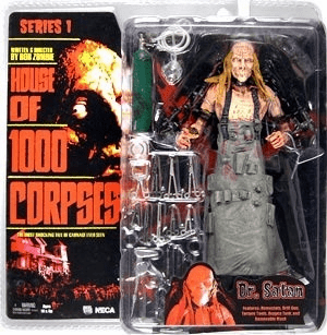 House of 1000 Corpses Dr. Satan Action Figure