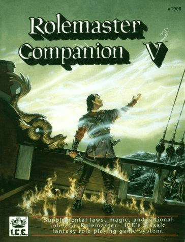 I.C.E. Rolemaster Companion V 2nd Edition