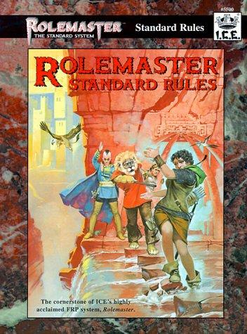 I.C.E. Rolemaster Standard Rules RPG Book