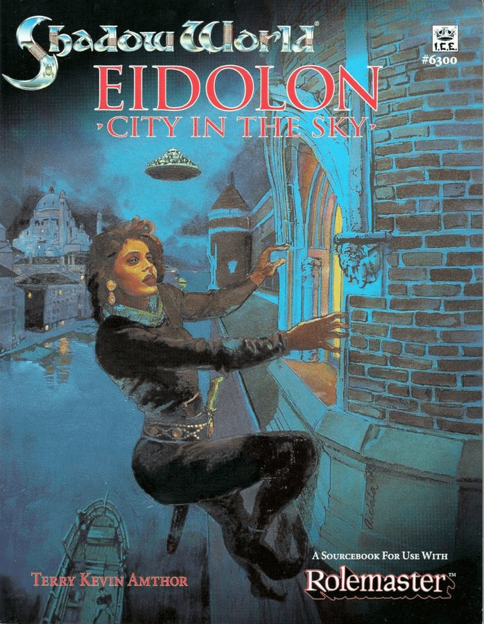 I.C.E. Shadow World Eidolon City in the Sky RPG Module