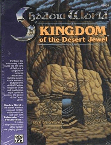 I.C.E. Shadow World Kingdom of the Desert Jewel RPG Module