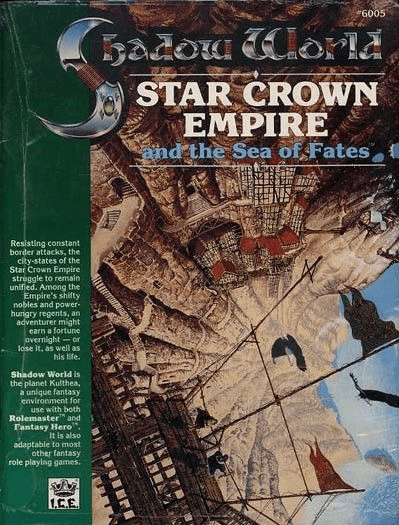I.C.E. Shadow World Star Crown Empire & the Sea of Fates RPG Module