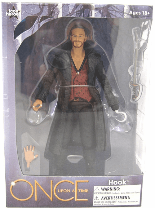 Icon Heroes Once Upon A Time Hook Figure