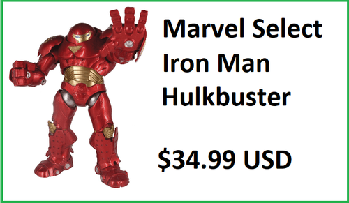 Marvel Select Iron Man Hulkbuster Figure