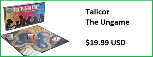 Talicor The Ungame Board Game