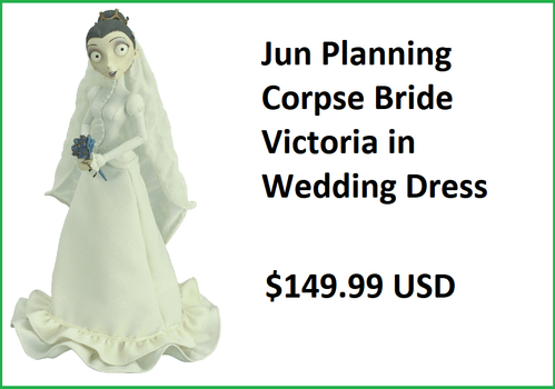 Jun Planning Corpse Bride Wedding Dress Victoria Figure