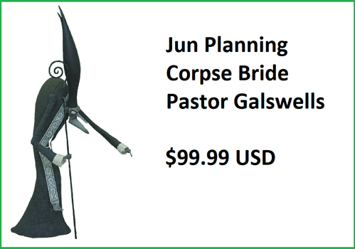 Jun Planning Corpse Bride Pastor Galswells Figure
