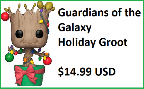 Funko Pop Vinyl Guardians of the Galaxy Holiday Groot Figure