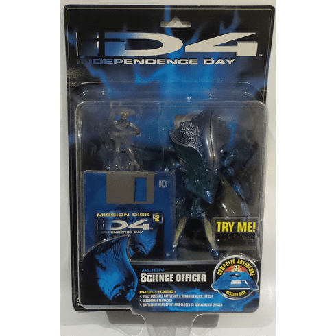 Independence Day Alien Science Officer Action Figure