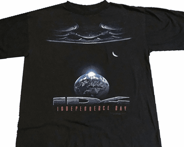Independence Day ID4 1996 Promotional T-Shirt
