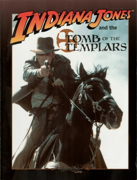 Indiana Jones and the Tomb of the Templars RPG Book