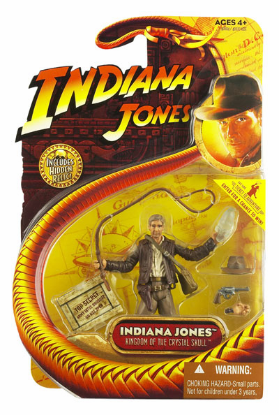 Indiana Jones Kingdom of the Crystal Skull Action Figure
