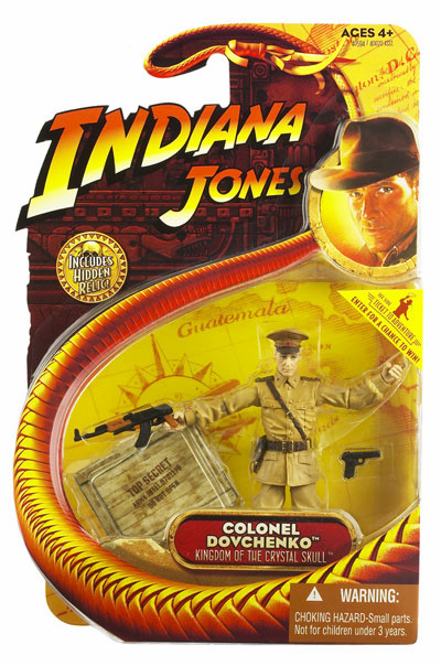Indiana Jones Kingdom of the Crystal Skull Colonel Dovchenko Figure