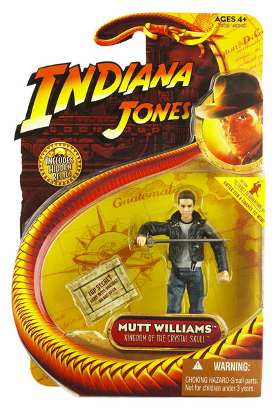 Indiana Jones Kingdom of the Crystal Skull Mutt Williams Figure