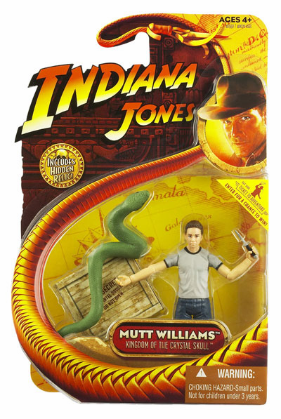 Indiana Jones Kingdom of the Crystal Skull Mutt Williams Snake Figure