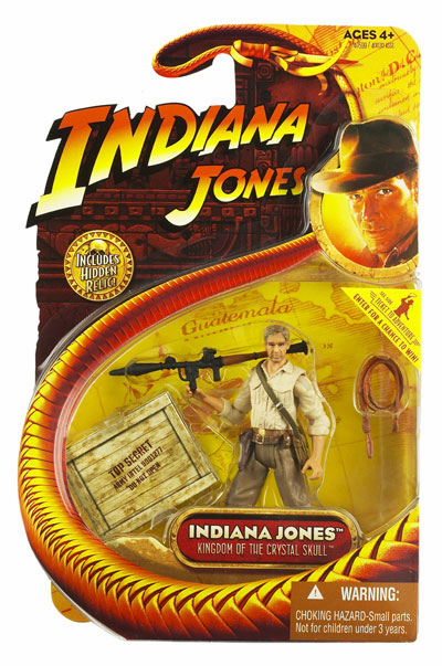 Indiana Jones Kingdom of the Crystal Skull with Bazooka Action Figure