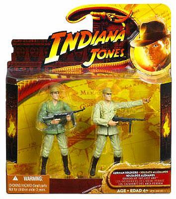 Indiana Jones Raider of the Lost Ark German Soldiers 2-Pack