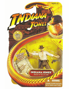 Indiana Jones Raider of the Lost Ark Indiana Jones with Whip Figure