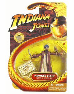 Indiana Jones Raider of the Lost Ark Monkey Man Figure