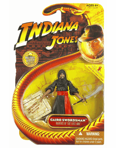Indiana Jones Raiders of the Lost Ark Cairo Swordsman Action Figure