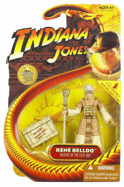 Indiana Jones Raiders of the Lost Ark Rene Belloq Action Figure