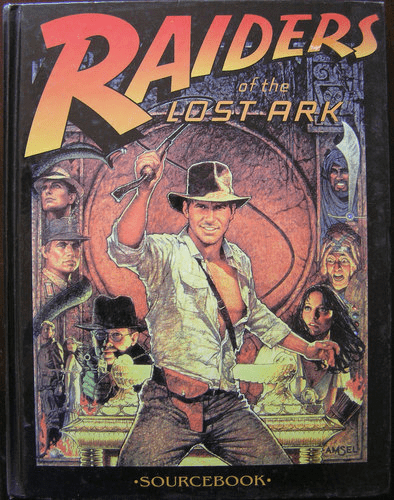 Indiana Jones Raiders of the Lost Ark Sourcebook
