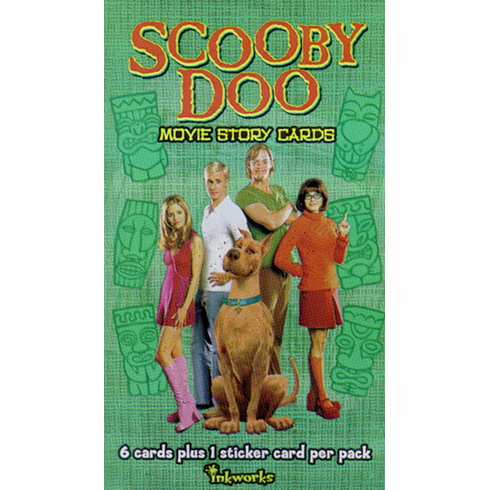 Inkworks Scooby-Doo Movie Trading Cards Pack