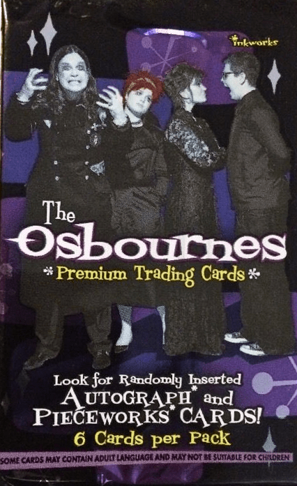 Inkworks The Osbournes Premium Trading Cards Pack