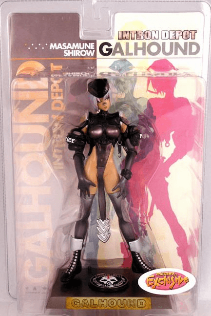Intron Depot Galhound Preview Exclusive Figure
