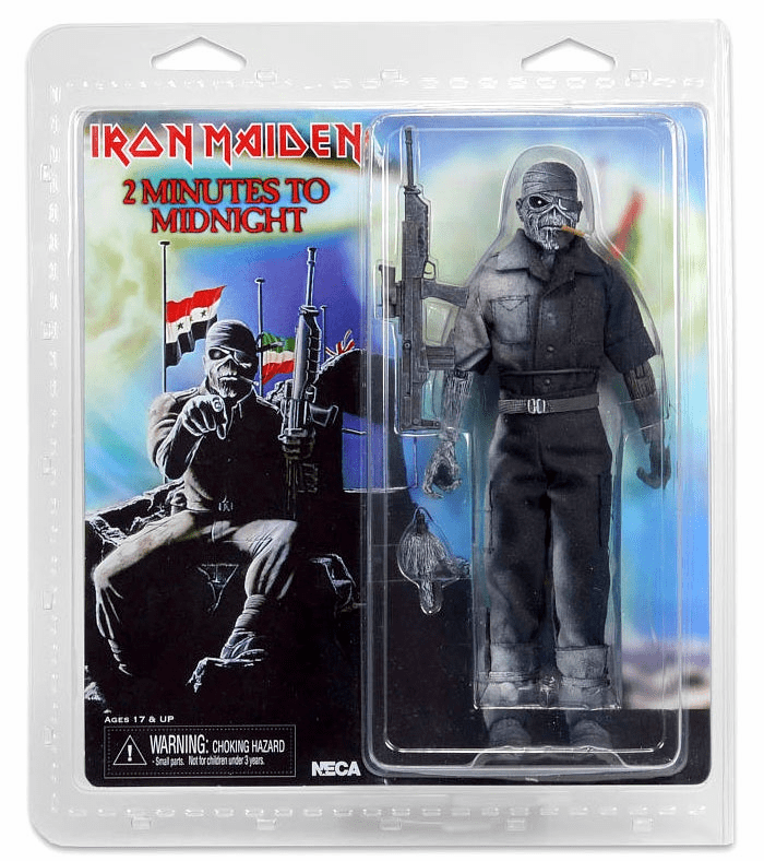 Iron Maiden Retro Cloth 2 Minutes to Midnight Figure