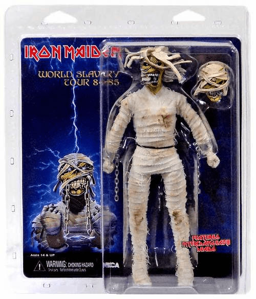 Iron Maiden Retro Cloth Mummy Eddie Figure