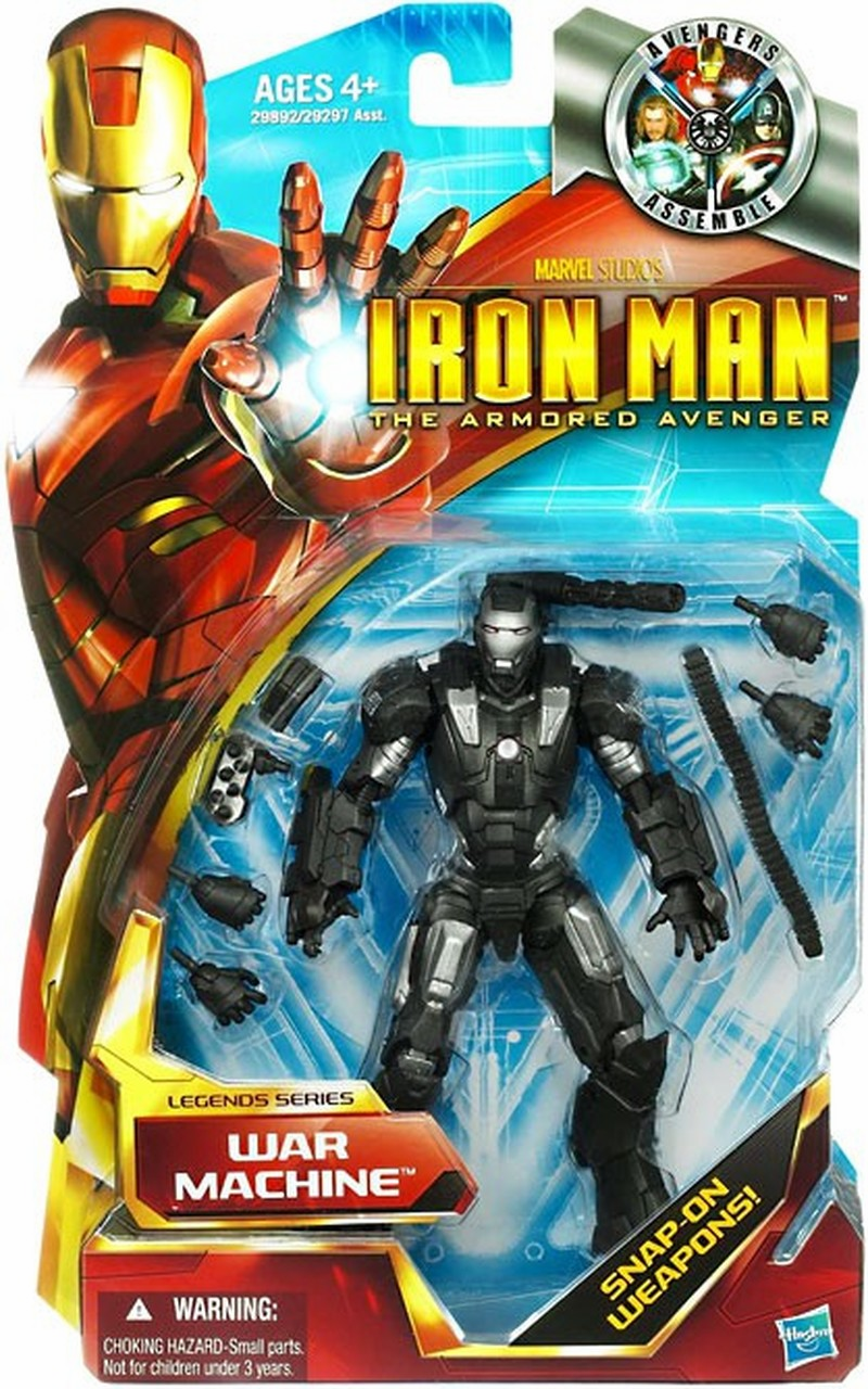 Iron Man The Armored Avenger Legends Series War Machine Figure