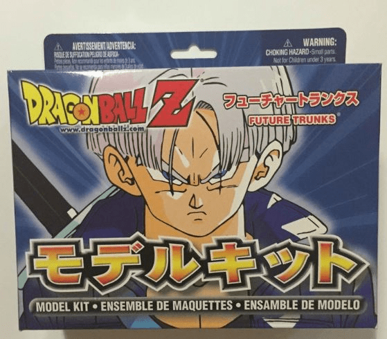 Irwin Toys Dragonball Z Future Trunks Model Kit