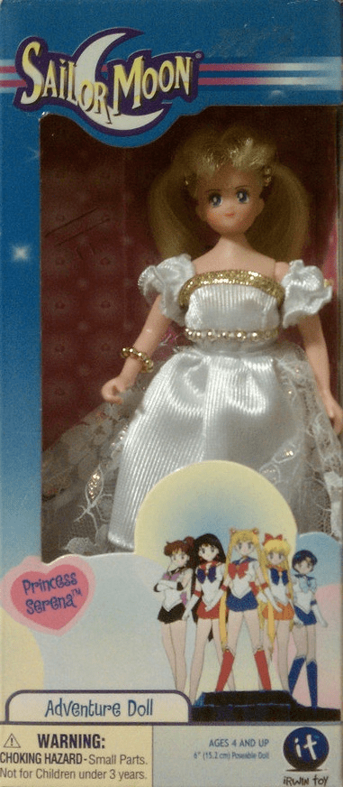 Irwin Toys Sailor Moon Mini Princess Serena Doll
