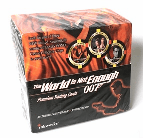 James Bond The World Is Not Enough 007 Premium Trading Cards