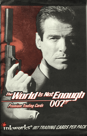 James Bond The World Is Not Enough 007 Premium Trading Cards Pack
