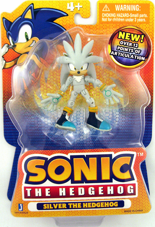 Jazwares Sonic The Hedgehog Silver The Hedgehog Figure