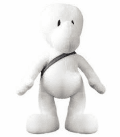 Jeff Smith's Bone Life Sized Fone Bone Plush